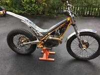 2013 Sherco ST 300 Trials bike road registered