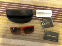 Brand new women's Armani sunglasses + case rrp £150
