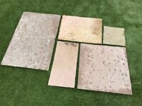 MARSHALLS INDIAN SANDSTONE PAVING BUFF MULTI 11.5sq m