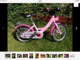 PUKY Girls Bicycle Princess Lillifee ZL 16 ALU RRP £195