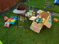 Free Baby/Toddler Toys Etc