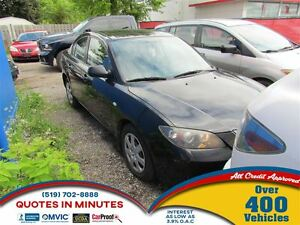 2007 Mazda MAZDA3 GX | GREAT STARTER CAR FOR RECENT GRADS