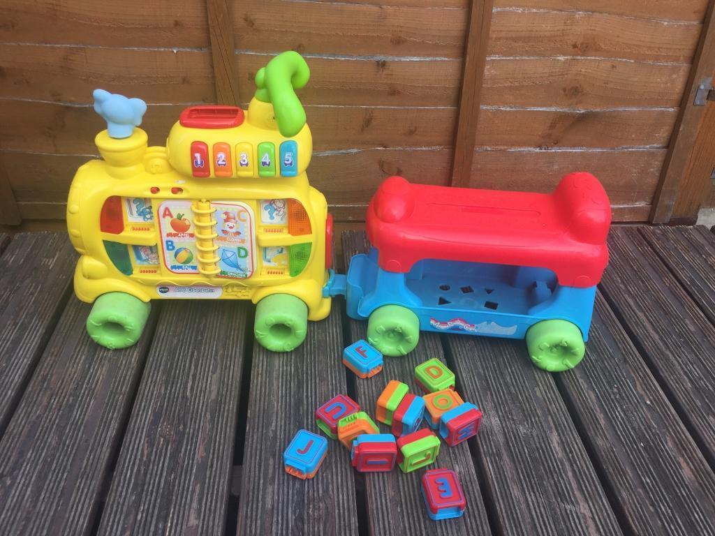 Vtech ABC train kids educational toy   in Carshalton, London   Gumtree