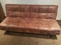 Sofa Bed (like new) plus free tan sofa if you want it.