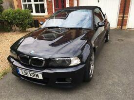 BMW E46 M3 Convertible / SMG / Carbon Black / 2003