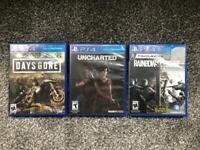 PS4 game bundle