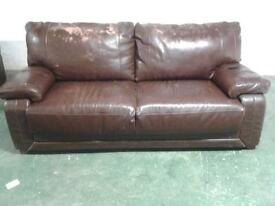 3 pce leather suite for recovering ( very strong )