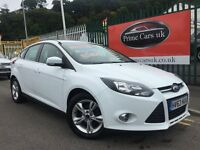2013 63 Ford Focus 1.6 TDCi Zetec 5dr 6 Speed Manual Turbo Diesel