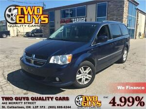 2013 Dodge Grand Caravan Crew ONE OWNER NICE LOCAL TRADE IN!!