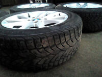 BMW ALLOYS and WINTER EURO tyres (from main dealer) 16 inch, superb condition