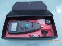 Speed Measuring Meter - Tachometer - Rev Counter