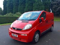Vauxhall vivaro 1.9 diesel swb low mileage similar to renault trafic nissan primastar