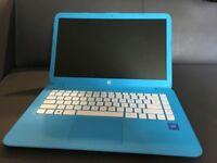 """HP Stream 14-ax050sa 14"""" Laptop - Blue (Windows 10)"""