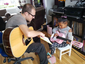 Guitar lessons in Bristol - All ages and ability levels welcome!