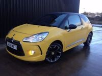 2011 (60) Citroen DS3 1.6 HDi DSport 3dr 2 KEYS, Service History, 12 Months MOT, Finance Available