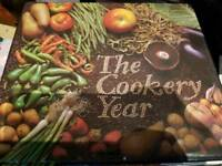 5 x READERS DIGEST COOKERY YEAR COOK BOOK.
