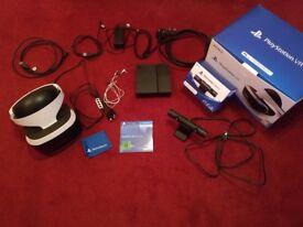 PlayStation VR + camera