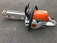 Stihl ms 251 with Eder power gouge