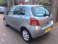 TOYOTA YARIS 1.3 FULLY AUTOMATIC 2008,VERY LOW MILEAGE,1 YEAR COMPLETE M.O.T,FULL HISTORY,LADY OWNER