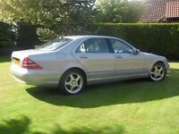 Mercedes Benz S500L One lady owner for 15 years only 25800 miles