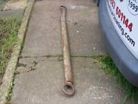 commercial towing pole used sold as seen