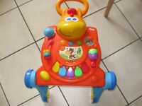 LITTLE TIKES PONY Light 'n Go 3-in-1 Activity Walker Table Push Along Baby - REDUCED TO £8.50 TODAY