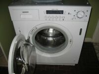 Hoover 8kg integrated washing machine