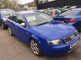 Audi s4 4.2 avant 2003 blue colour Quattro bargain