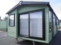 3 bedroom sited static caravan for sale in cumbria