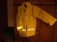 HIGH VISIBILITY STREETWISE WETHERBY JACKET SIZE LARGE BRAND NEW WITH TAGS