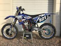 2005 Yamaha YZ250F YZF250 evo motocross mx race bike scrambler