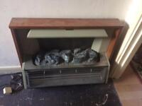 Free electric fire