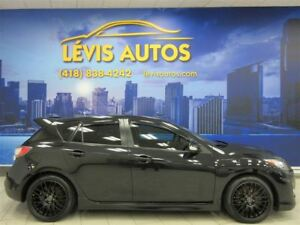 2012 Mazda Mazdaspeed3 TECHNOLOGIE PACKAGE GPS TURBO 115500 KM