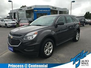 2016 Chevrolet Equinox LS AWD One Owner| Accident Free
