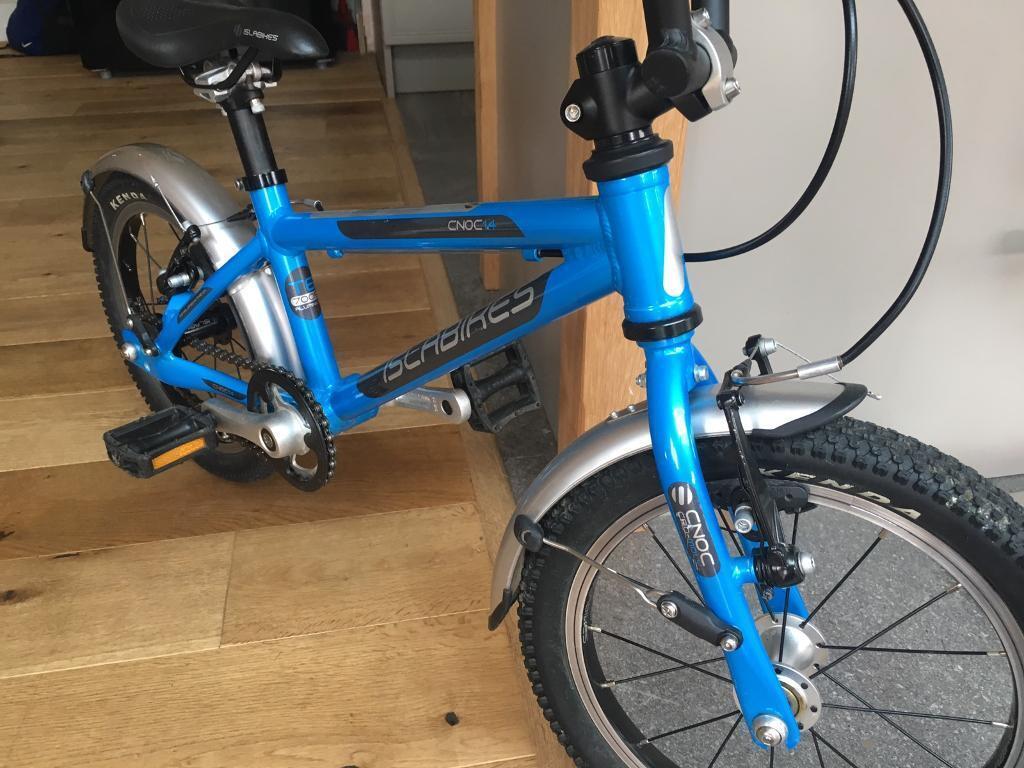 Islabike Cnoc 14 blue children's bike