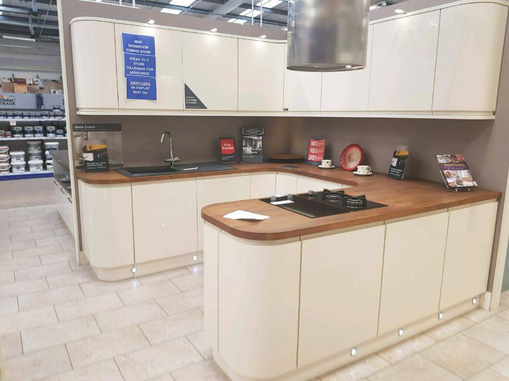 Sofia Cream Ex Display Wickes Kitchen | in Edinburgh | Gumtree