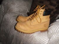 firetrap mens size 9 wheat and brown boots
