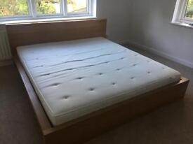 Ikea superking mattress and bed frame