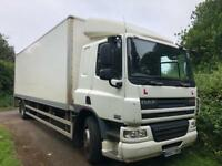 18 ton daf cf box lorry ideal export