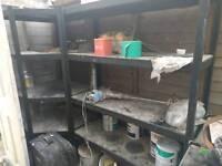 Builder shelves