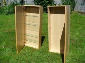 Pair of bathroom/medicine cabinets
