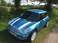 2005/05 MINI ONE 1.6 only 68K 12 MONTHS MOT