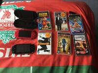 2 psp +video and game bundle