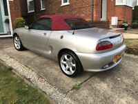 MGF - 75 Anniversary Limited Edition non vvc - Only Silver RHD Example Registered in UK