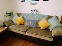 URGENT SALE! 4 seater recliner sofa and recliner chair