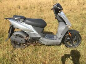 Kymco Agility 50, MOT, moped