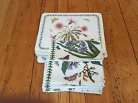 PORTMEIRION TABLE MATS/NAPKINS/TOWEL