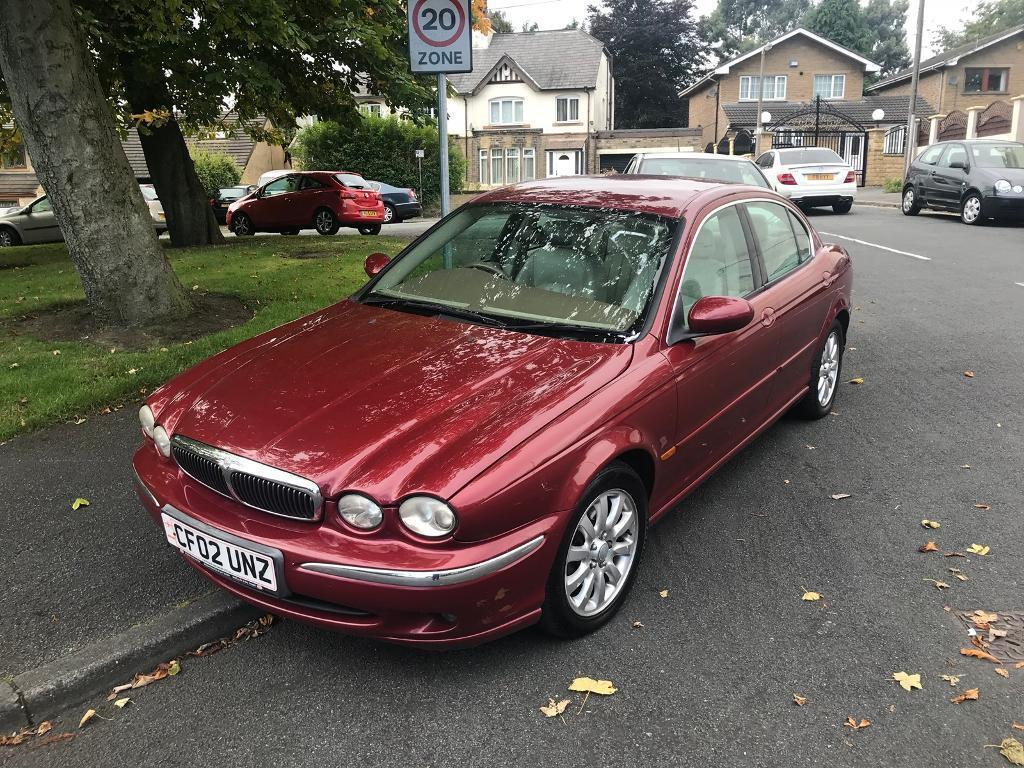 2002 02 JAGUAR X TYPE 2.5 SE 4WD AUTO CREAM LEATHERS FSH TOP SPEC MUST SEE BARGAIN DELIVERY AVAILBLE
