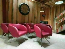 8 Boss Design Reception Chairs