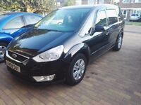 2008 FORD GALAXY 2.0 TDCI AUTO BLACK, 12 MONTHS MOT ,7 SEATER, NOT SMAX, S-MAX